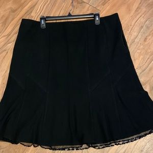 Vintage Lane Bryant Black Skirt Sequin Detail NICE